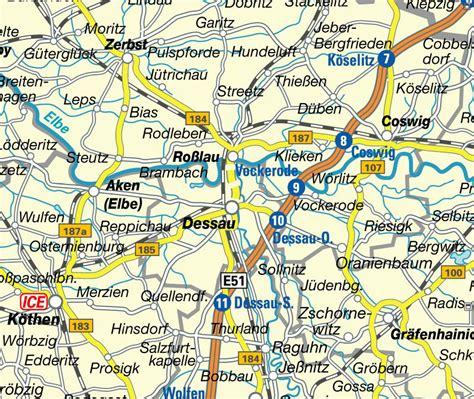 dessau map dessau map and dessau satellite image