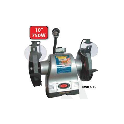 1 hp bench grinder krisbow kw0700075 bench grinder ind 10in 1hp 220v