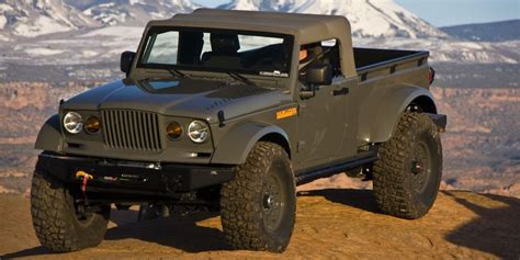 jeep prototype truck six times jeep teased us with a truck concept