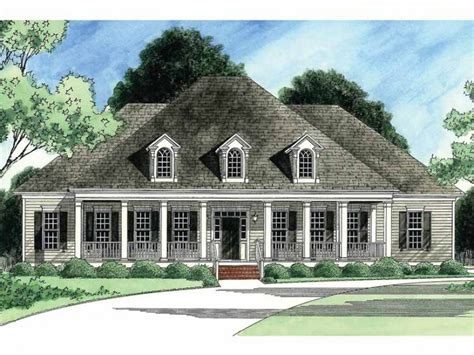 eplans country house plan classic low country 3531