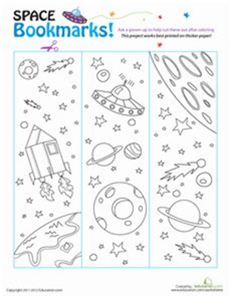 printable science bookmarks solar system bookmark printable pics about space