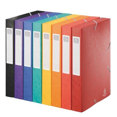 fourniture de bureau d馭inition chemise box cartobox exacompta 24 x 32 cm couleurs