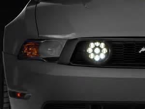 led fog lights raxiom clear led mustang fog lights 101688 05 12 gt