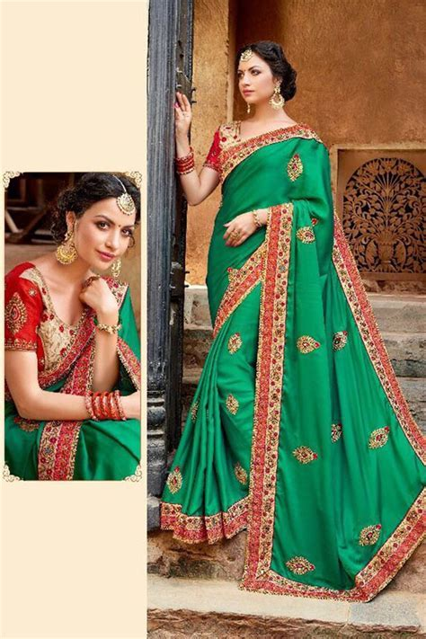 Latest Indian Bridal Elegant Saree Designs Trends 2018 2019
