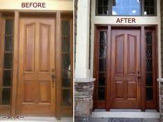 1000 images about door refinish on wooden