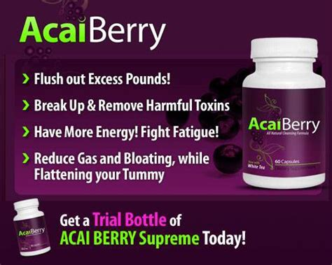 acai berry supreme kisah acai berry