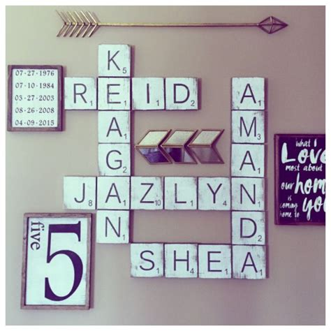 best 25 scrabble wall ideas on scrabble