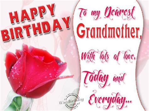 Grandmother Quotes Birthday Birthday Wishes For Grandmother Birthday Images Pictures