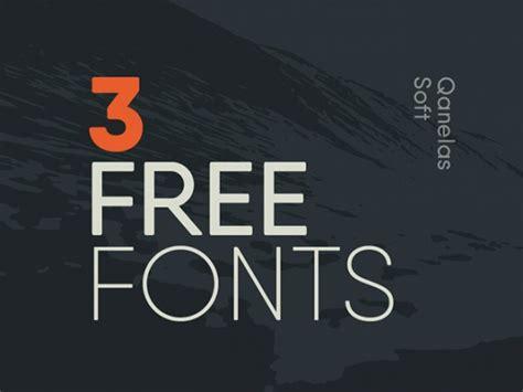 soft typography qanelas soft 3 free font weights freebiesbug