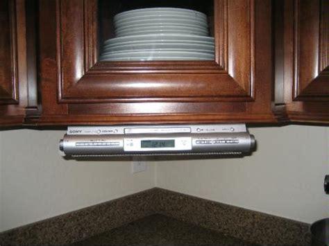 sony icf cd543rm kitchen under cabinet mount cd player am amazon com sony icfcdk50 under cabinet kitchen cd clock