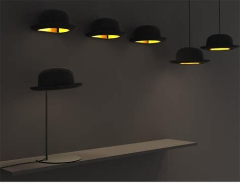 jeeves bowler hat wall light by jake phipps