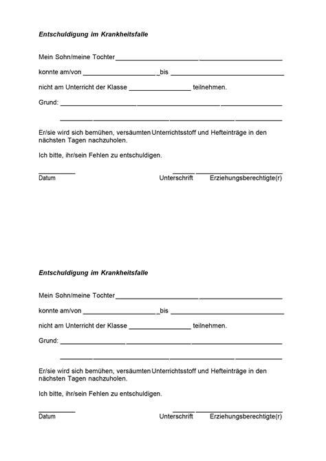 Vorlage Antrag Beurlaubung Schule Befreiung Vom Unterricht Vorlage B 252 Rozubeh 246 R