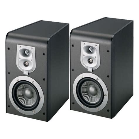 jbl es20b 3 way bookshelf speaker black pair es20bk b h