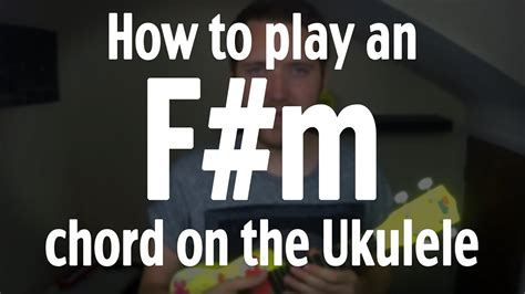 how to play ukulele in 1 day the only 7 exercises you need to learn ukulele chords ukulele tabs and fingerstyle ukulele today best seller volume 4 books how to play an f m chord on the ukulele by iamjohnbarker