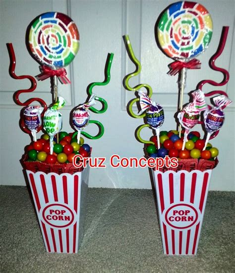 circus themed table decorations carnival theme centerpiece decor table