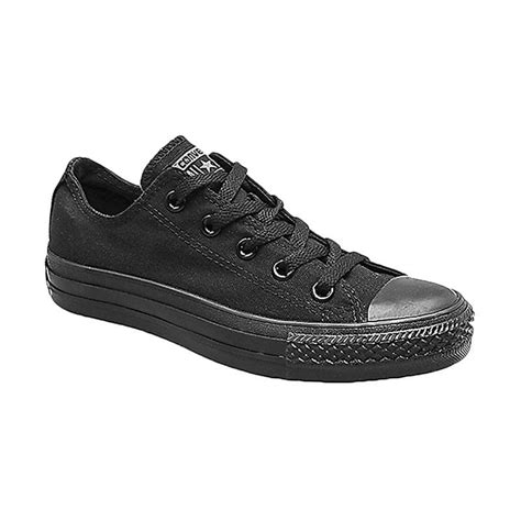 Sepatu Converse All Hitam jual converse as chuck all fullblack low made