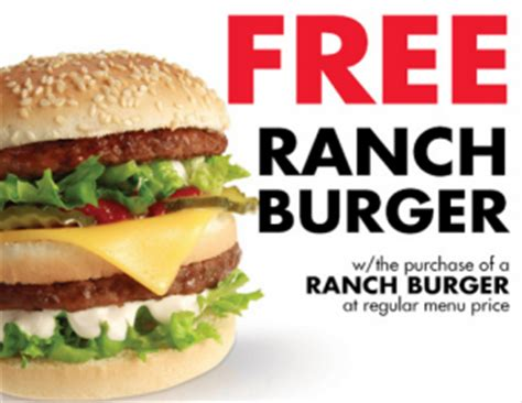 Backyard Burger Eclub Bogo Free Ranch Burger At Arctic Circle Utah Sweet Savings