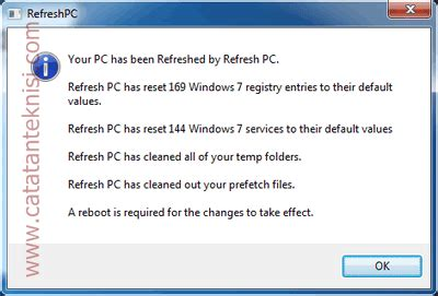 resetting windows services to default reset windows services dan setingan registry ke kondisi