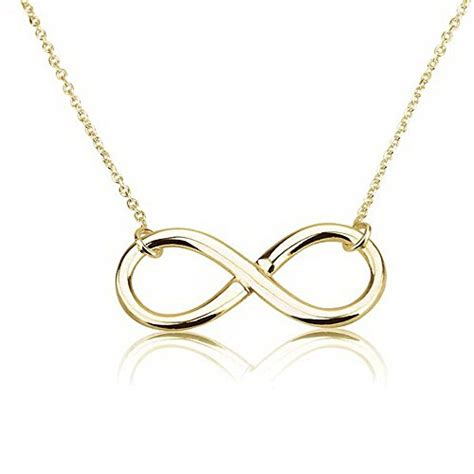 where to buy infinity necklace infinity pendant 18k gold infinity necklace 16 inches