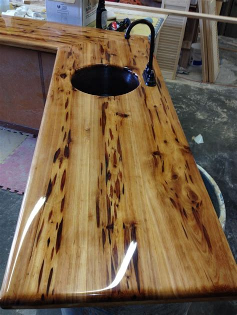 peck cypress bar top wood work bar tops
