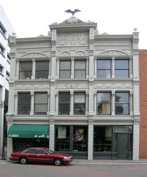 Cornice Company Detroit Cornice And Slate Company Building