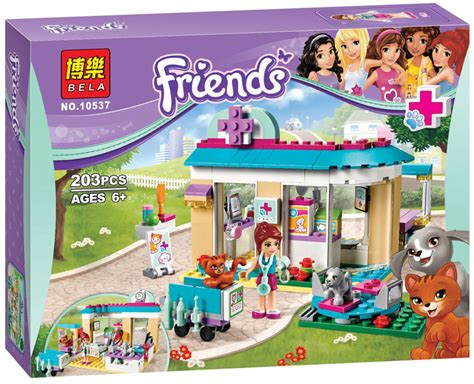 Promo Hsanhe 6700 Mini Pet Shop Model 3 In 1 2016 new bela 10537 203pcs friends vet clinic model building blocks kits compatible with lepin