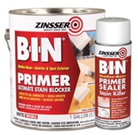 exterior primer and paint in one zinsser b i n primer sealer
