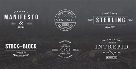 Vintage Kitchen Design Ideas by 10 Hipster Logo Showcases Simplywp
