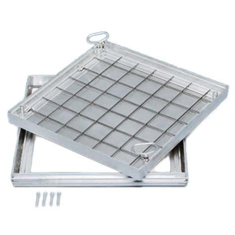 schachtabdeckungen zum auspflastern zarges schachtabdeckung edelstahl 635 x 635 mm ohne