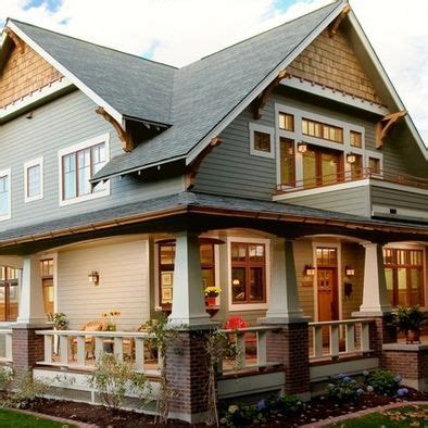 wrap around porch dream homes pinterest craftsman style house so cozy love the wrap around