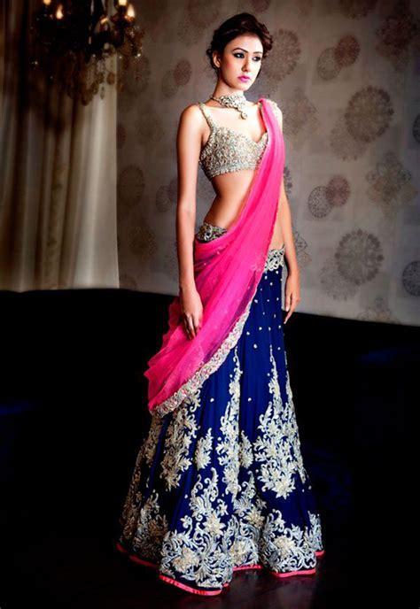 Top Indian Designers Bridal Lehenga Choli Dresses