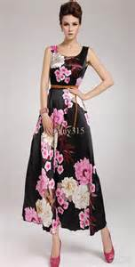 Where To Order Flowers Online For Cheap - women sleeveless brocade satin dress elegance peony
