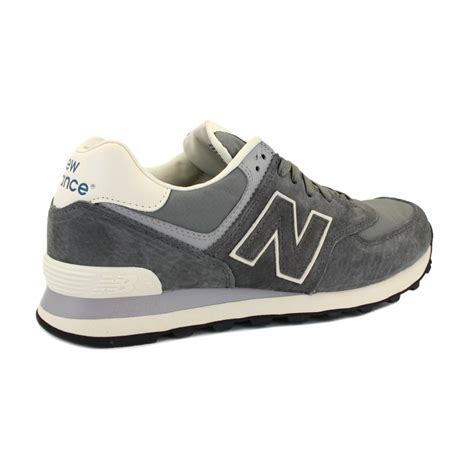 new balance ripstop 574 ml574srg mens suede textile