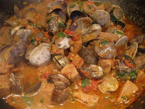 portuguese dish recipes pork and clams esmeralda cabral