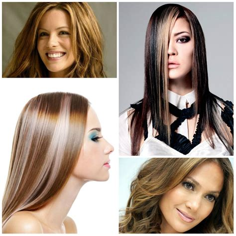 hairstyles highlights 2017 hair highlights page 3 best hair color trends 2017