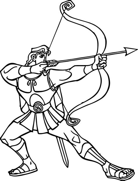 Hercules Coloring Pages Wecoloringpage Hercules Coloring Page