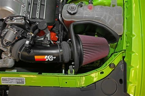 challenger rt cold air intake k n typhoon cold air intake 15 challenger charger srt hellcat