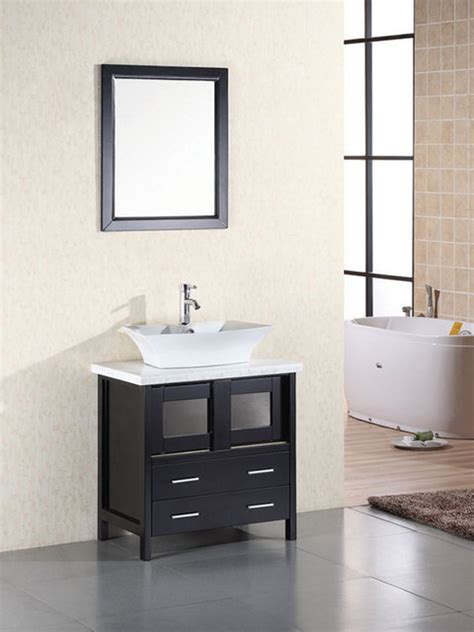 30 quot elite single bath vanity dec020 modern bathroom