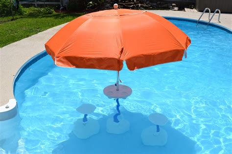 floating table for pool relaxation station pool lounge aughog products ahp