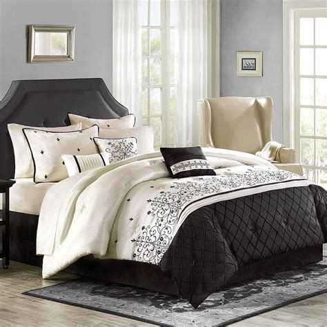 gray and white comforter sets queen comfortable grey bedding sets queen with white and black