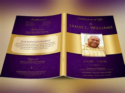 regal funeral program template godserv designs sellfy