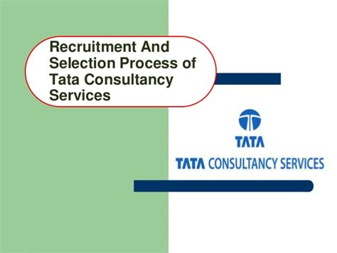 Tcs Mba Recruitment by Tcs Recruitment And Selection