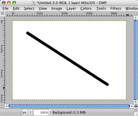 flyer design using gimp visual learner gimp tutorial how to draw a straight line in gimp alvinalexander com