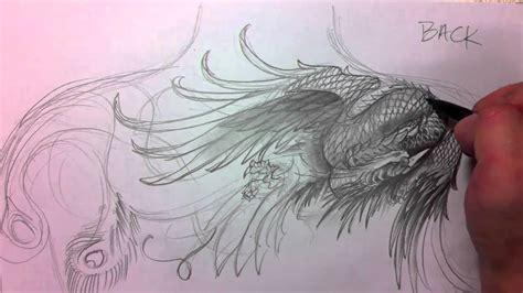 phoenix drawing youtube