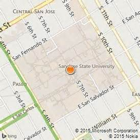 San Jose State Map by San Jose State University Review Amp Facts American