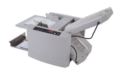 Paper Folding Machine 11x17 - magnum mfm ps programmable speed paper folding machine
