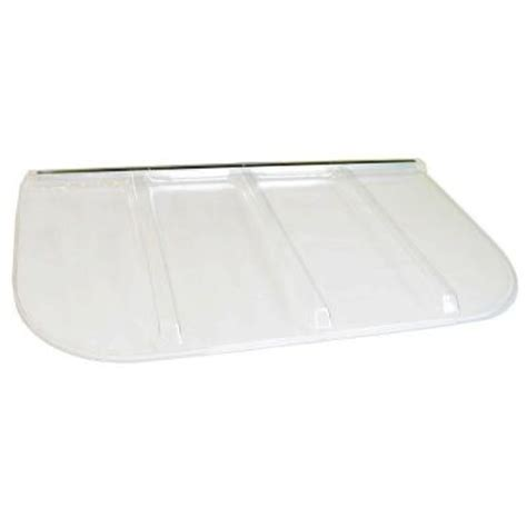 window well covers home depot shape products 69 in x 38 in polycarbonate u shape