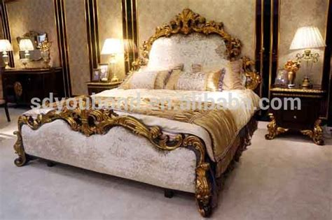 arabic bedroom set 0063 high quality luxury royal antique wooden carving