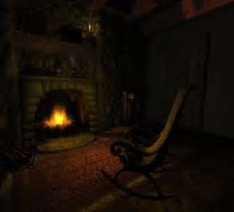 fireplace animated screensaver