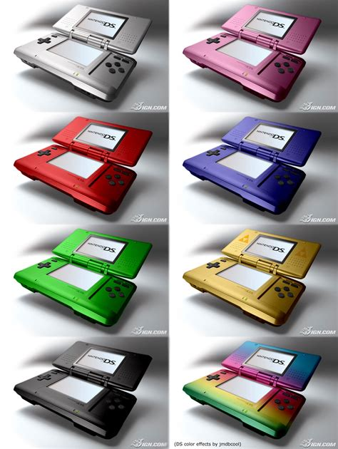 nintendo color nintendo ds colors by jmdbcool on deviantart